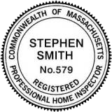 Commonwealth of Massachusetts Professional Home Inspector